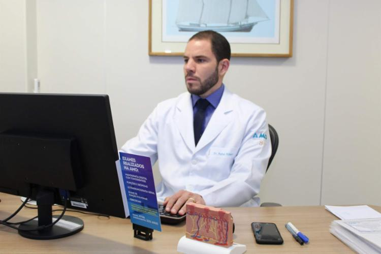 Médico Rafael Ribeiro explica a importância do diagnóstico precoce | Foto: Divulgação