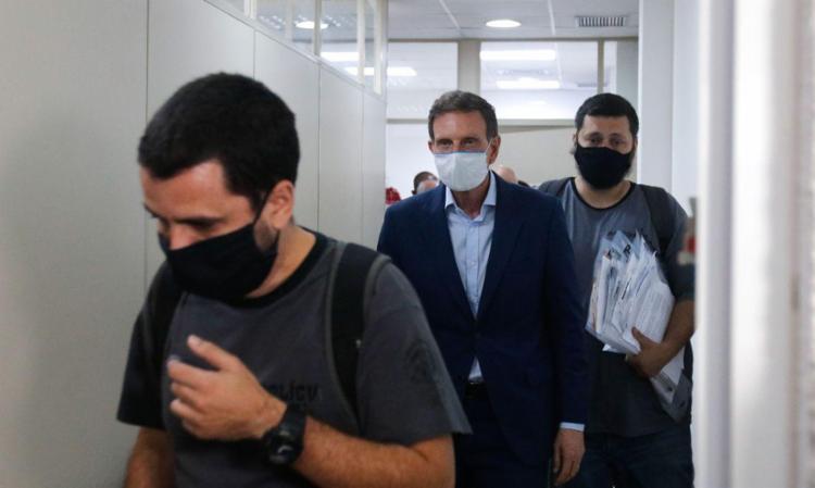 Ao ser liberado de prisão domiciliar, ex-prefeito teve que entregar passaporte à Justiça | Foto: Tânia Rego | Agência Brasil - Foto: Tânia Rego | Agência Brasil