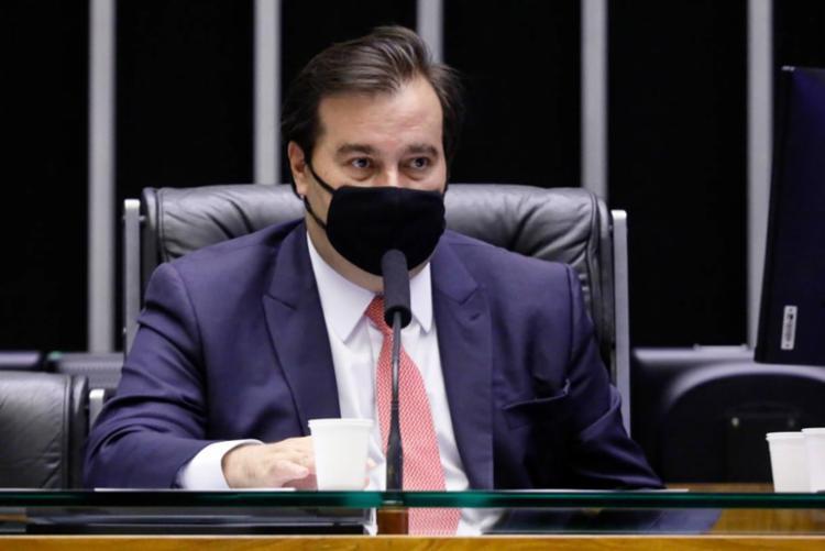 Internamente, Maia culpa o presidente da sigla, ACM Neto, pela derrota de Baleia Rossi | Foto: Divulgação - Foto: Divulgação