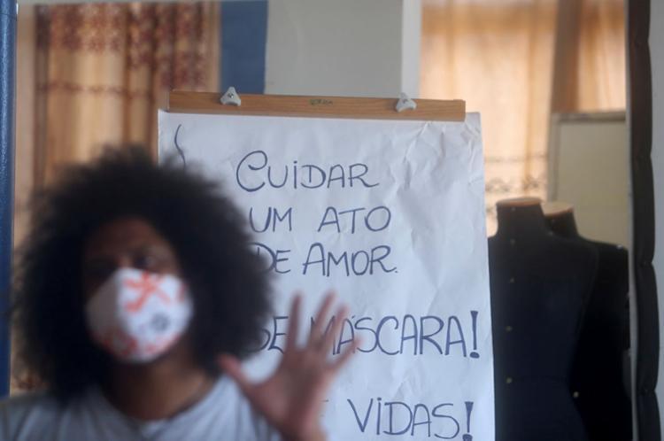 O Projeto Axé é uma das entidades que atuam pela garantia de direitos de jovens | Foto: Felipe Iruatã | Ag. A TARDE - Foto: Felipe Iruatã | Ag. A TARDE
