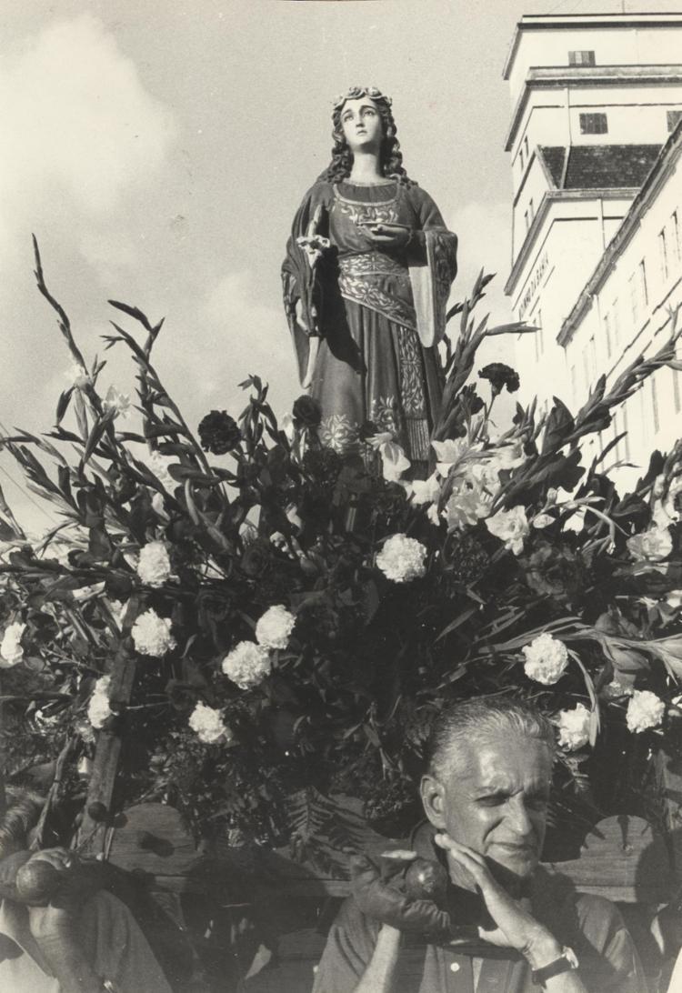 Devoção é uma das mais fortes no Brasil | Foto: Cedoc A TARDE | 10.12.1978 - Foto: Cedoc A TARDE | 10.12.1978