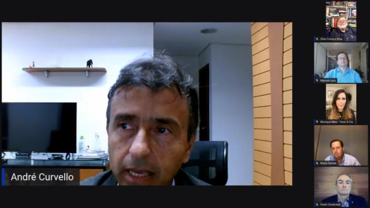 O secretário de Comunicação estado, André Curvello, falou sobre as estratégias durante a pandemia - Foto: Divulgação