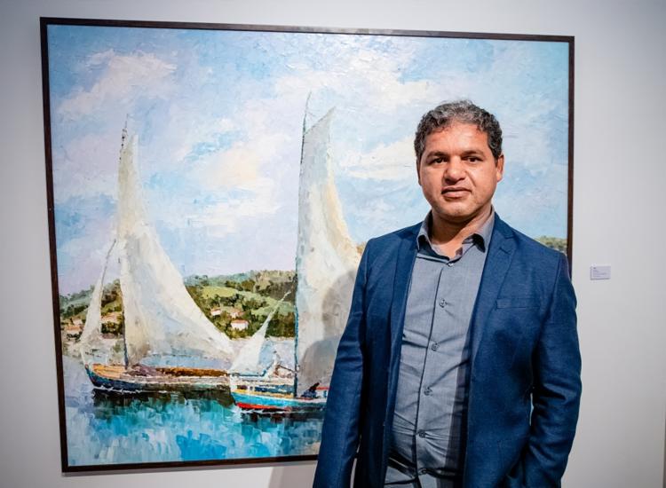 Sérgio Amorim apresenta obras inéditas e autorais na mostra | Foto: Divulgação - Foto: Divulgação