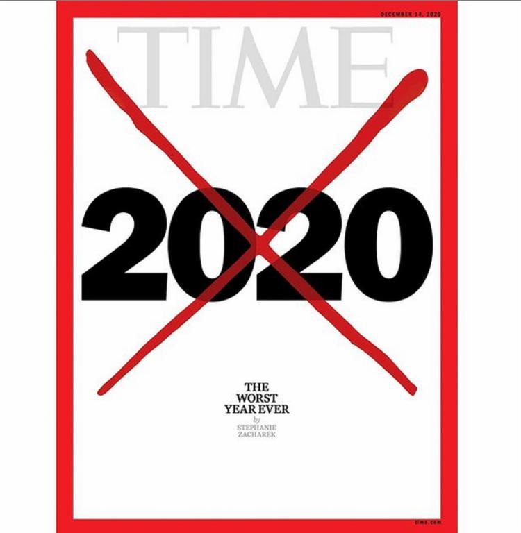 Para a revista, a maioria de nós que estamos vivos hoje não viu nada como este ano | Foto: Reprodução | Redes Sociais - Foto: Reprodução | Redes Sociais
