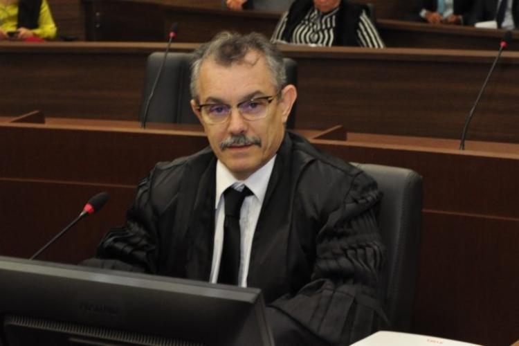 Na cerimônia, o desembargador afirmou seu compromisso com a Justiça Eleitoral | Foto: Divulgação - Foto: Divulgação