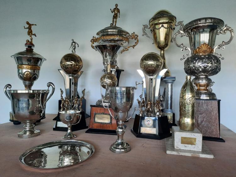 Troféus do clube foram restaurados aos poucos | Foto: EC Bahia | Divulgação - Foto: EC Bahia | Divulgação