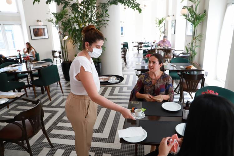 Fera Palace Hotel reabriu no dia 1º de dezembro, com novos protocolos | Foto: Tatiana Azeviche | Divulgação