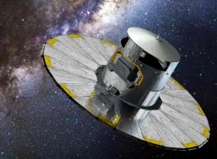 Telescópio foi posto em órbita pela Agência Espacial Europeia em 2013 - Foto: D. Ducros/AFP