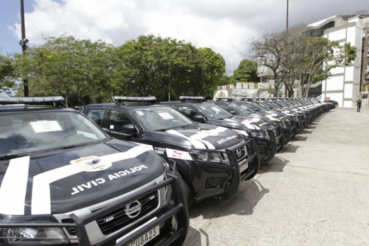 Equipamentos serão distribuídos em diversos municípios | Foto: Fernando Vivas | GOVBA