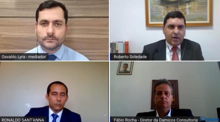 Webinar discutiu administração pública municipal / Foto: Reprodução | YouTube - Foto: Reprodução | YouTube