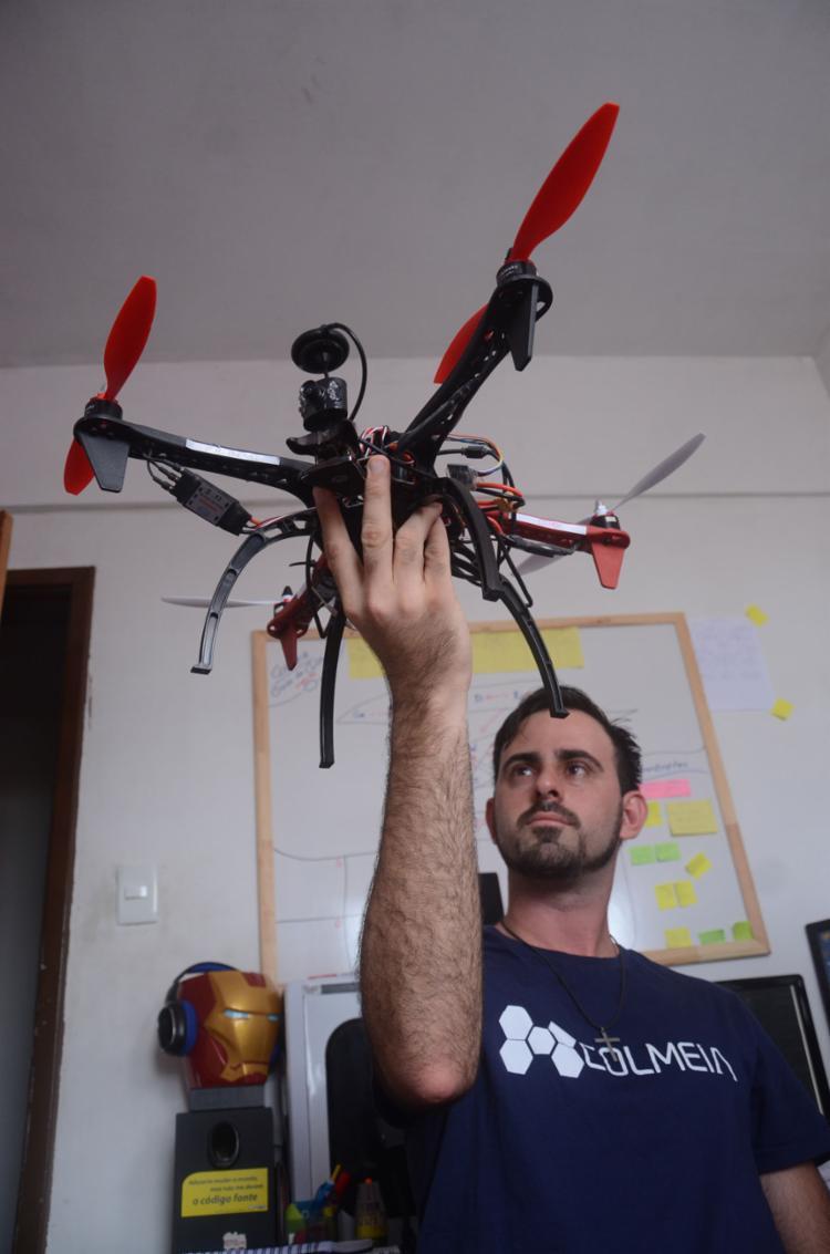 William depende de aulas práticas para se formar | Fotos: Alex Oliveira | Ag. A TARDE - Foto: Alex Oliveira | Ag. A TARDE