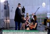 Alexandre Frota distribui leite condensado em ato de lançamento da candidatura na Câmara | Foto: Reprodução I TV Câmara
