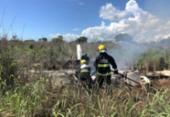 Anac diz que aeronave que caiu com quatro atletas do Palmas está regularizada | Foto: Divulgação | Corpo de Bombeiros