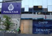 Advogado e amigo suspeitos de matar barbeiro em bar do Imbuí são presos | Foto: Vaner Casaes | Ag. A TARDE
