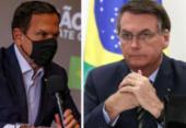 Bolsonaro proíbe ministros de atender a pedidos de Doria | Foto: