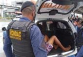 Homem é detido após assalto a coletivo na avenida Bonocô | Foto: Divulgação | Guarda Civil Municipal