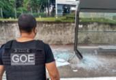 Vandalismo: homem é flagrado pela Guarda Civil destruindo ponto de ônibus | Foto: Divulgação