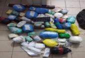 Drogas e celulares são apreendidos no presídio de Salvador | Foto: SEAP