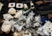 Polícia apreende 26 coletes balísticos e 4 mil porções de cocaína em Campinas de Brotas | Foto: Divulgação: SSP