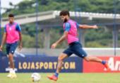Bahia foca nas bolas paradas para enfrentar o Athletico-PR | Foto: Felipe Oliveira | EC Bahia