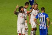 Vitória fica atrás duas vezes, mas busca empate com Avaí na Ressacada | Foto: Roberto Zacarias | Mafalda Press