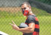 Thiago Lopes volta aos treinos e vira opção para duelo contra o Botafogo-SP | Foto: Victor Ferreira | EC Vitória
