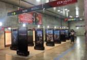 Exposição fotográfica Amados Olhares segue em cartaz na Estação Campo da Pólvora | Foto: Divulgação I CCR Metrô