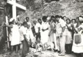 A TARDE Memória: gruta no bairro de Ondina reúne registros da Casa de Omolu e Obaluaê | Foto: Cedoc A TARDE | 30.1.1978