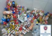 215 latas de cervejas que seriam arremessadas para presidiários são apreendidas | Foto: Divulgação | SSP