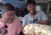 Pescador tailandês encontra vômito de baleia avaliado em até R$ 1,2 milhão | Foto: Reprodução