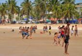 Praias de Salvador voltam a ficar abertas todos os dias em horário livre | Foto: Shirley Stolze | Ag: A TARDE