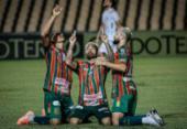 Série B: Sampaio Corrêa vence Paraná e ainda sonha com acesso | Foto: Lucas Almeida | Sampaio Corrêa
