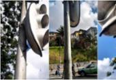 Vândalos cortam cabos de semáforos na avenida Vasco da Gama | Foto: Divulgação | Transalvador