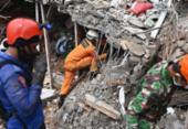 Socorristas buscam sobreviventes de terremoto na ilha indonésia Celebes | Foto:
