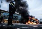Trinta pessoas são presas em ato contra toque de recolher na Holanda | Foto: Rob Engelaar | AFP