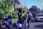 Motociclista fica ferida em acidente; motorista fugiu sem prestar socorro | Foto: Reprodução | TV Bahia