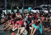 Ação conjunta prende 63 pessoas em bares clandestinos | Divulgação | Polícia Civil