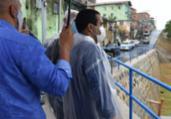 Bairro de Alto de Coutos recebe obras de contenção | Valter Pontes | Secom PMS