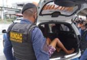 Homem é detido após assalto a coletivo na Bonocô | Divulgação | Guarda Civil Municipal