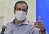 Bruno Reis: 'Tomar licor e comer amendoim em casa' | Reprodução | TV Bahia