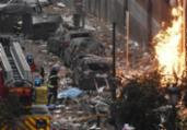 Madri: sobe para quatro o número de mortos em explosão | Oscar Del Pozo | AFP