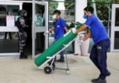 Oxigênio enviado pela Venezuela a Manaus chega ao país | Arquivo | AFP