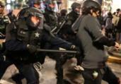 EUA: Seattle e Portland registram protestos violentos   Getty Images   Via AFP