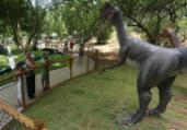 Mais 15 dinossauros serão instalados em parque do Stiep | Olga Leiria I Ag. A Tarde