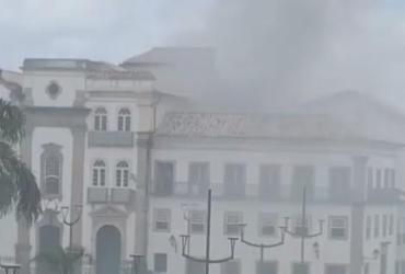 Incêndio atinge restaurante no Centro Histórico de Salvador | Reprodução