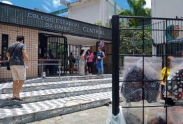 Portões nos locais de provas do Enem abrem 15 minutos mais cedo | Rafael Martins | Ag. A TARDE
