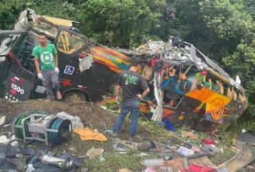 Acidente envolvendo ônibus deixa 21 mortos e 33 feridos no litoral do Paraná | Arquivo pessoal | Juliano Neitzke