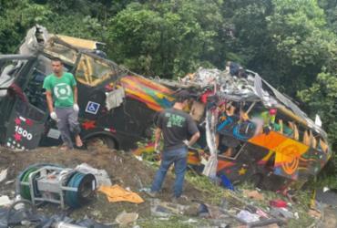 PM atualiza número de vítimas em acidente com ônibus no Paraná | Reprodução