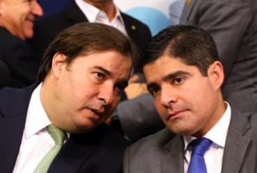 Em reunião com ACM Neto, Maia diz que DEM corre risco de virar 'partido da boquinha' | Divulgação
