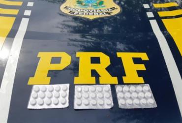 Anfetamina que seria distribuída em Pernambuco é apreendida na BR-110 | Divulgação | PRF